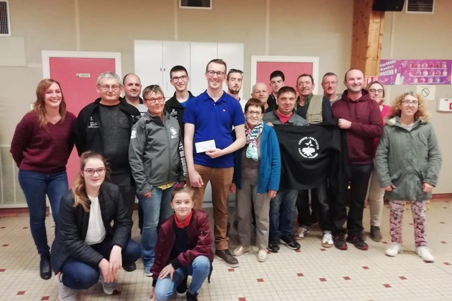 Le comité des fêtes de Tréhorenteuc et l'entente paletiste de Taupont/Ploërmel
