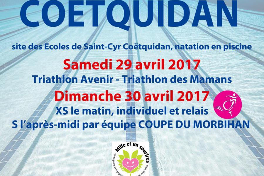Triathlon Coëtquidan - 2017