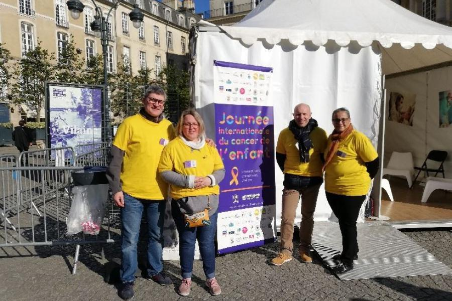 Journée internationale du Cancer de l'enfant - Rennes