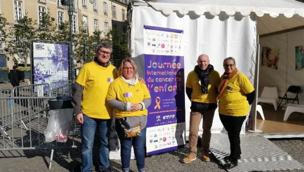Journée internationale du Cancer de l'enfant - Rennes